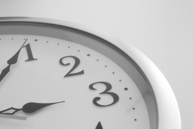 時間は貴重ですよ
