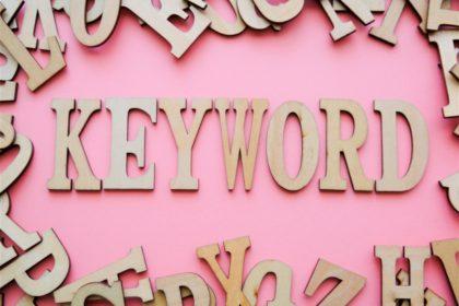 ブログのタイトルキーワード